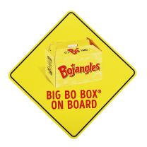 Big Bo Box® Window Decal - Right Side View  ; Big Bo Box® Window Decal - Left Side View  ; Big Bo Box® Window Decal - Front View